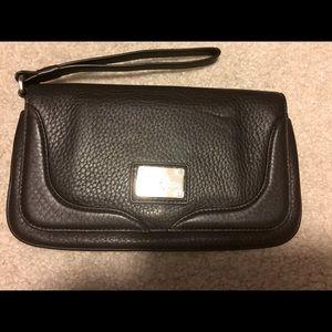 Cole Haan brown wrist bag